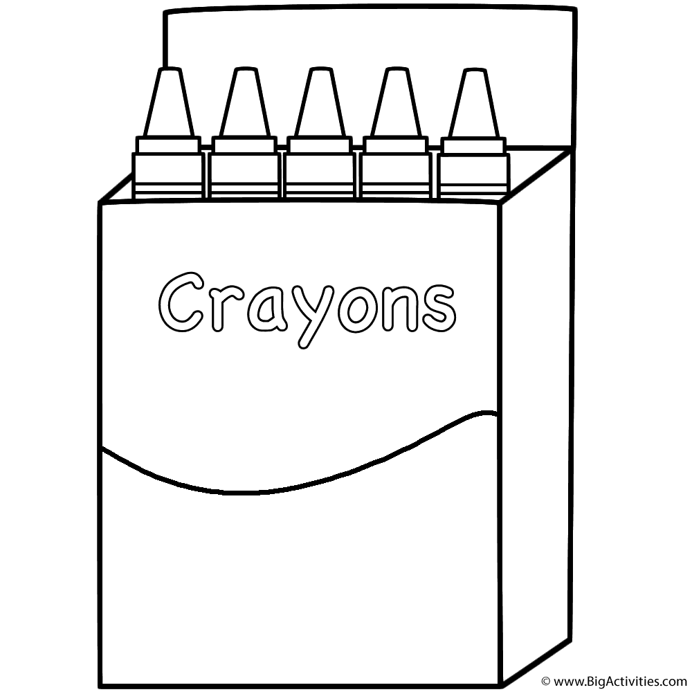 coloring printable crayon template crayon coloring pages printable at getcoloringscom free coloring crayon template printable