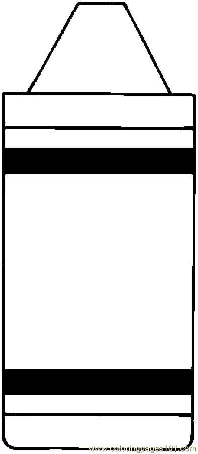 coloring printable crayon template crayon coloring sheet for gift tags and color practice template printable crayon coloring