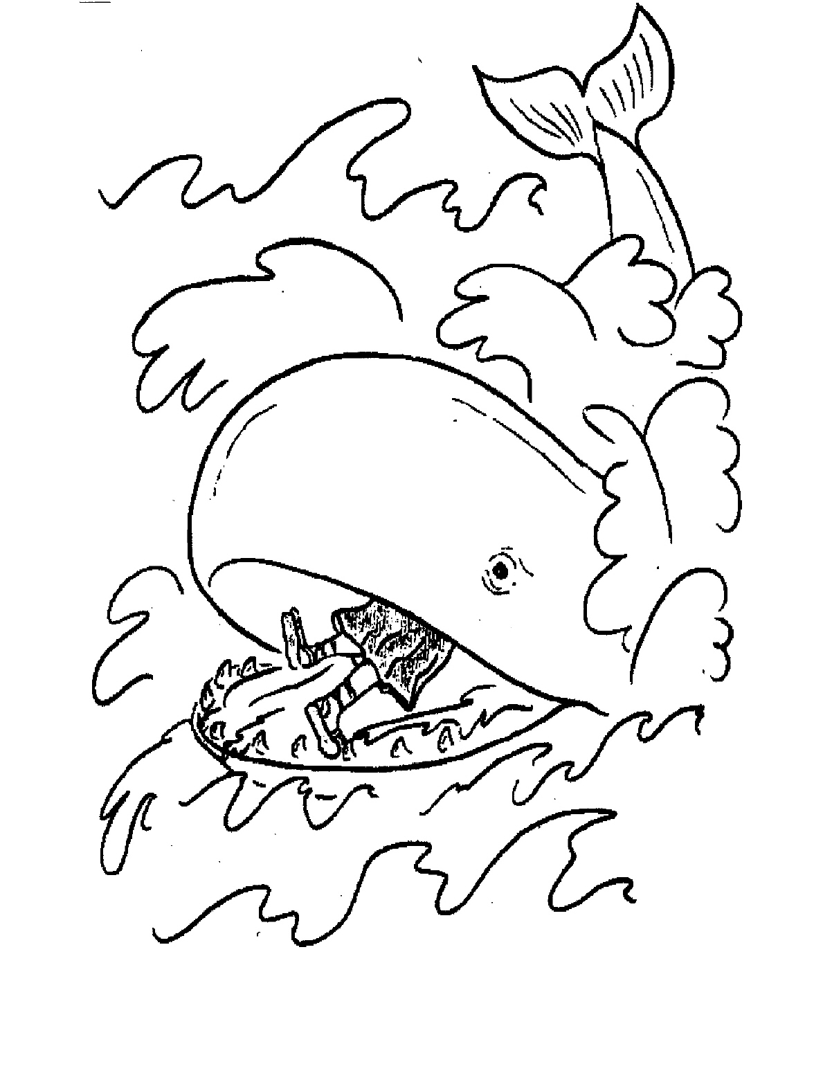 coloring printable jonah and the whale coloring pages of jonah and the whale clipart free and the coloring jonah whale printable