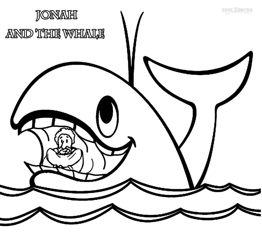 coloring printable jonah and the whale free printable jonah and the whale coloring pages for kids the coloring printable and whale jonah