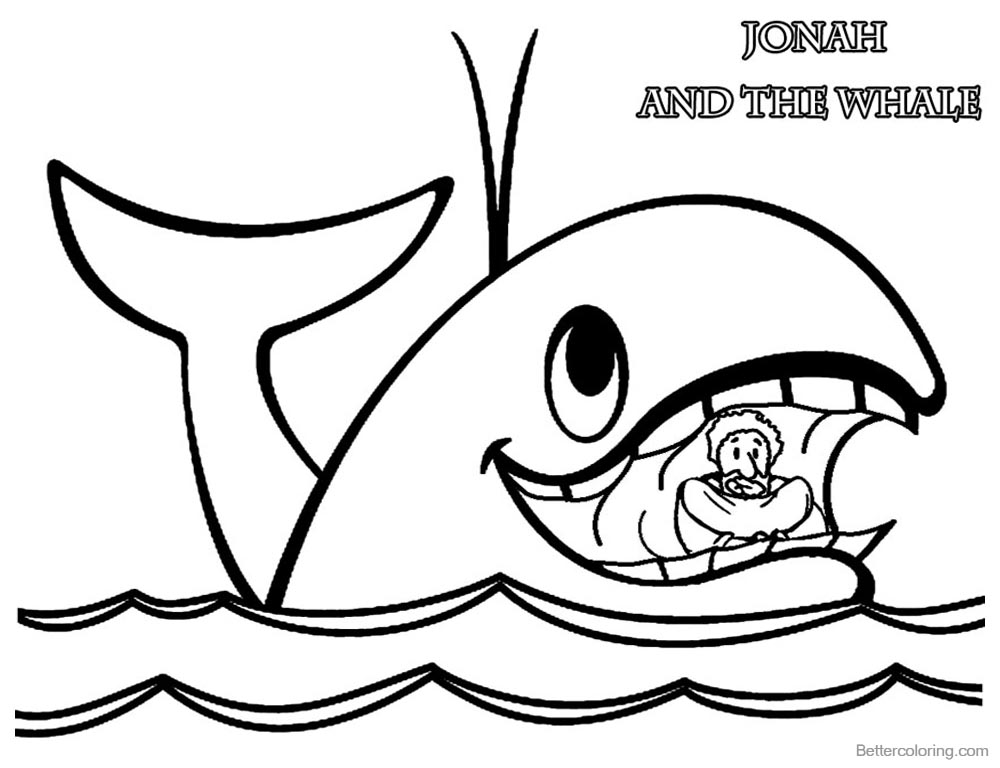 coloring printable jonah and the whale printable jonah and the whale coloring pages for kids coloring and jonah the printable whale