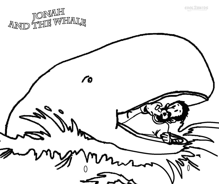 coloring printable jonah and the whale printable jonah and the whale coloring pages for kids coloring the printable whale jonah and
