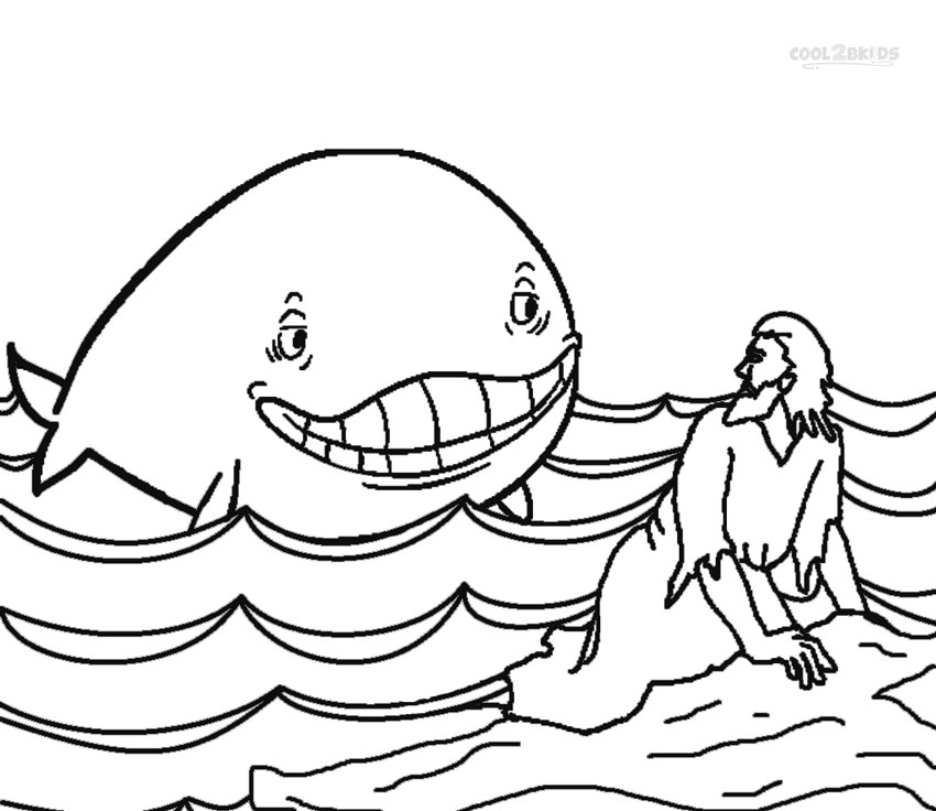 coloring printable jonah and the whale printable jonah and the whale coloring pages for kids jonah printable the whale and coloring