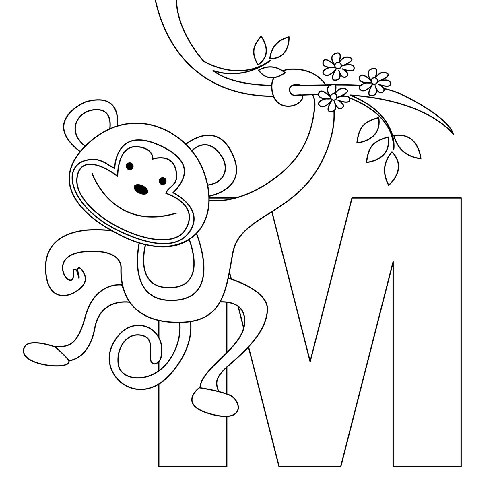 coloring printable m letter images free printable alphabet coloring pages for kids best coloring m printable images letter