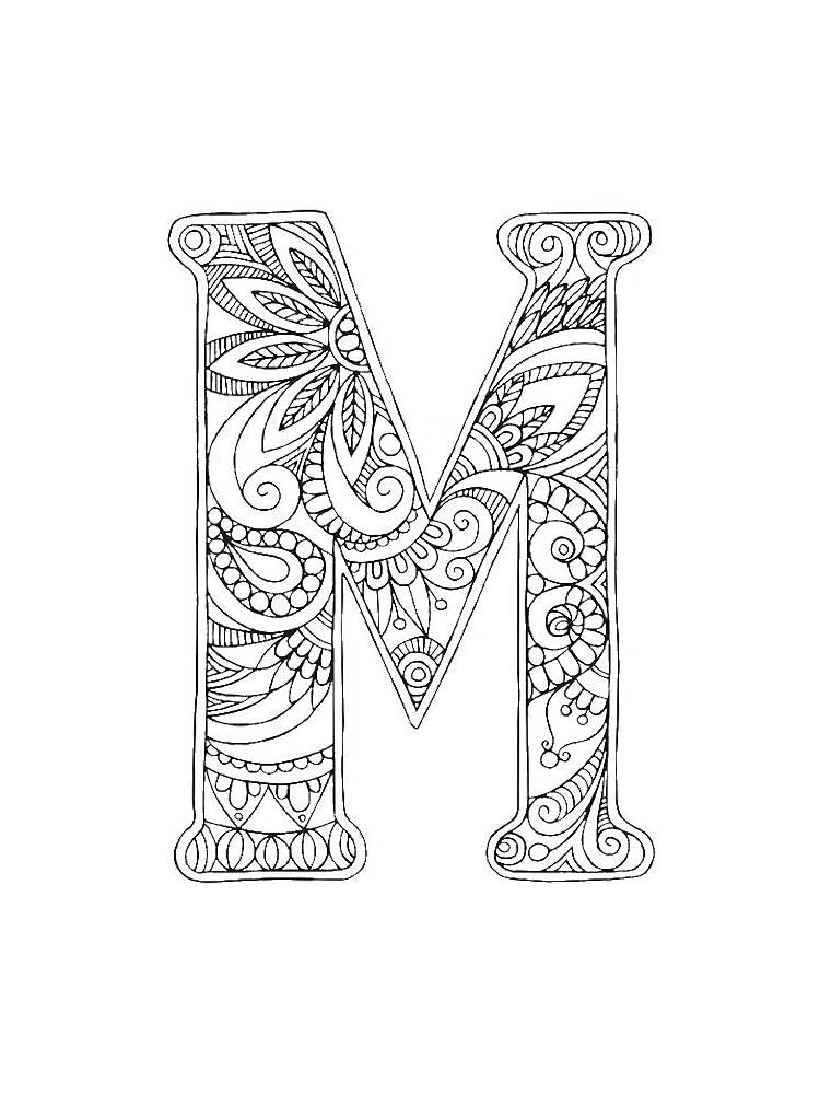 coloring printable m letter images letter m coloring pages download and print letter m coloring letter images m printable