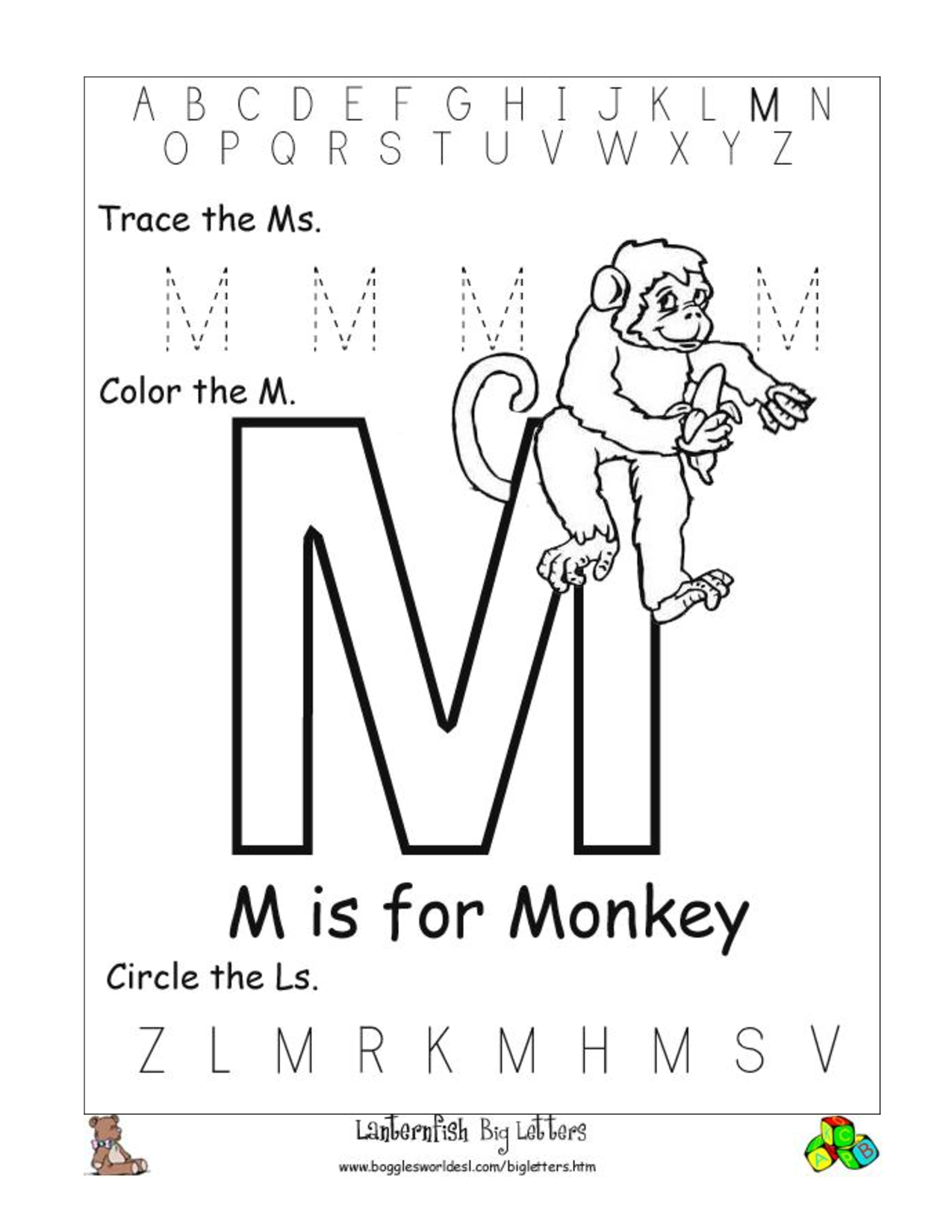 coloring printable m letter images letter m is for music coloring page free printable printable letter images coloring m