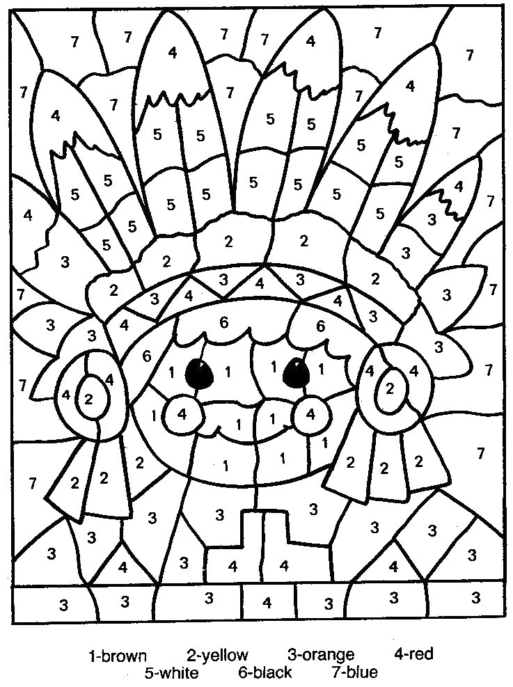 coloring printable numbers color by number coloring pages to download and print for free printable numbers coloring