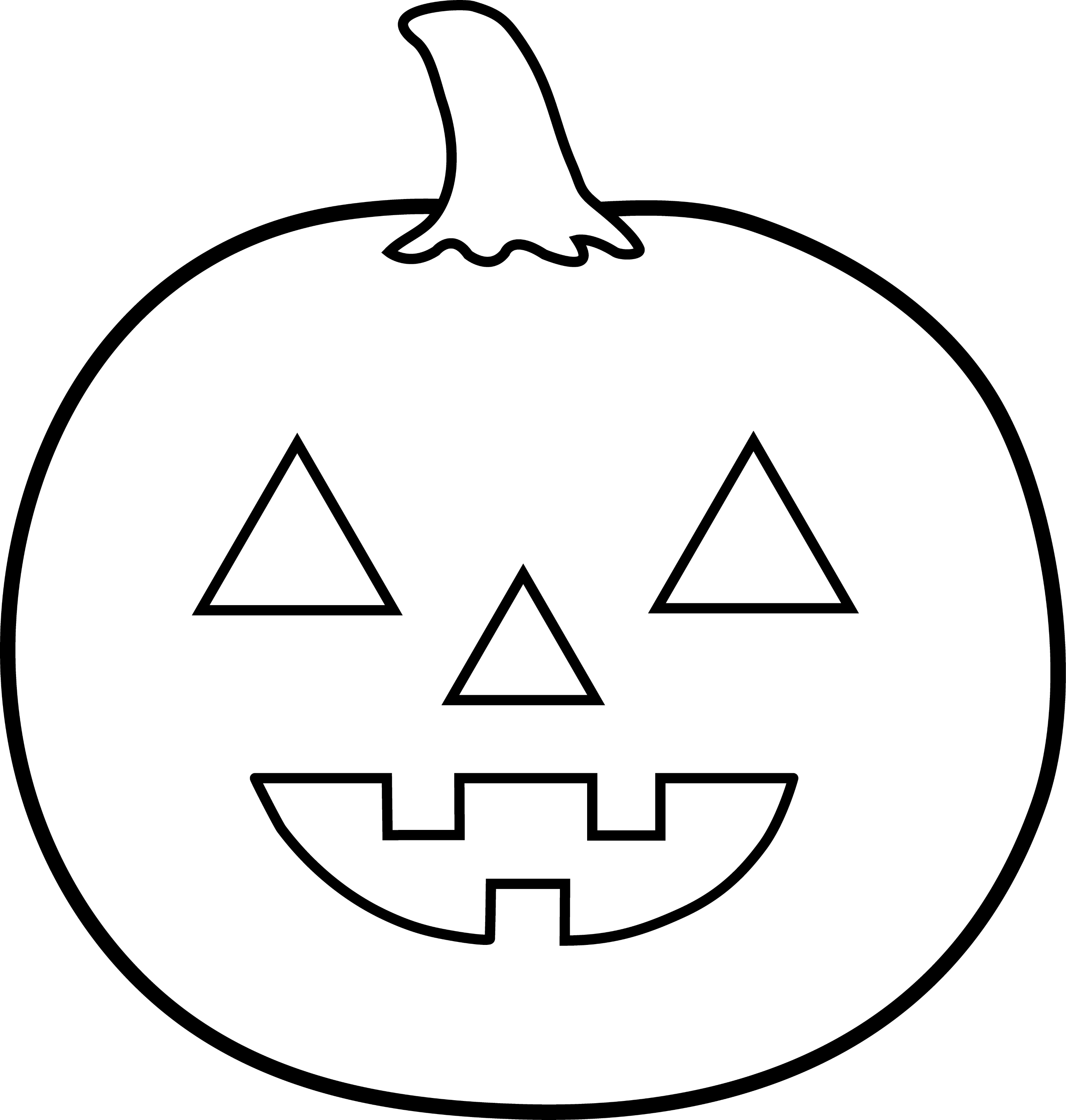 coloring pumpkin halloween clipart free printable pumpkin coloring pages for kids halloween coloring clipart pumpkin