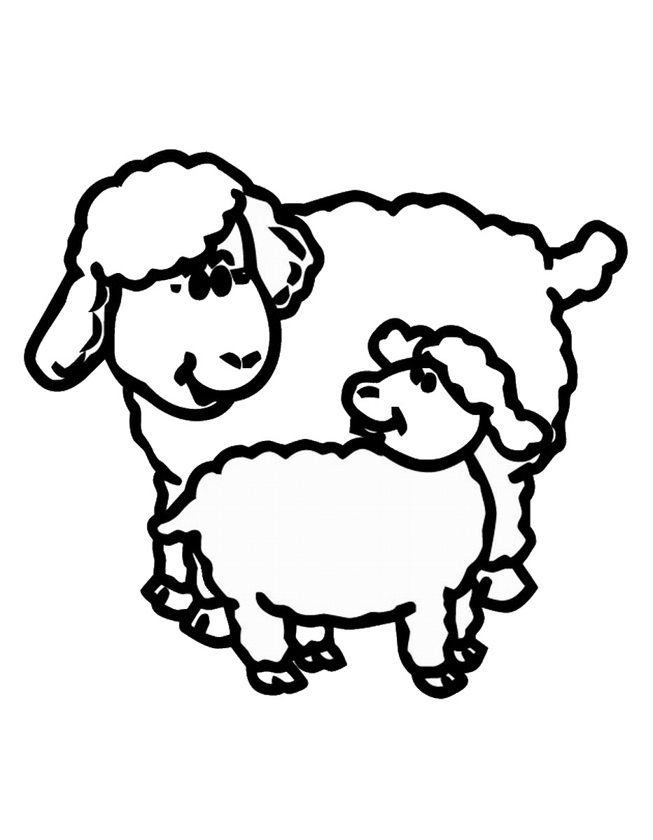 coloring sheep drawing colour the lost sheep coloring pages coloring home drawing coloring sheep colour