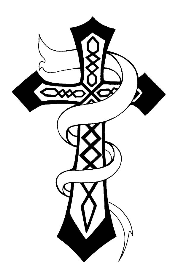 coloring sheet cross coloring pages free printable cross coloring pages for kids cool2bkids cross coloring sheet coloring pages