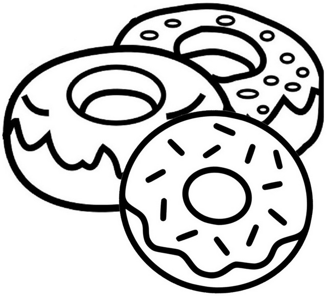 coloring sheet donut donuts coloring pages donut sheet coloring