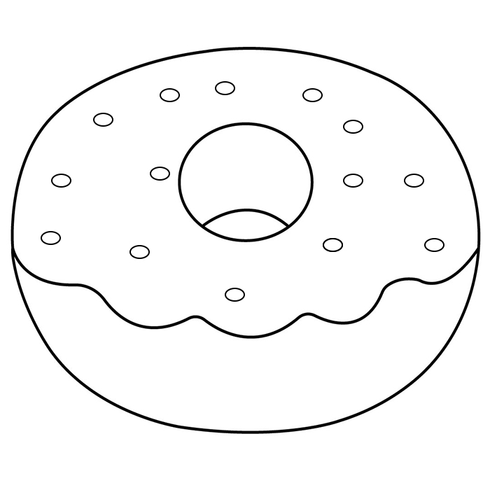 coloring sheet donut doughnut coloring page ultra coloring pages sheet coloring donut