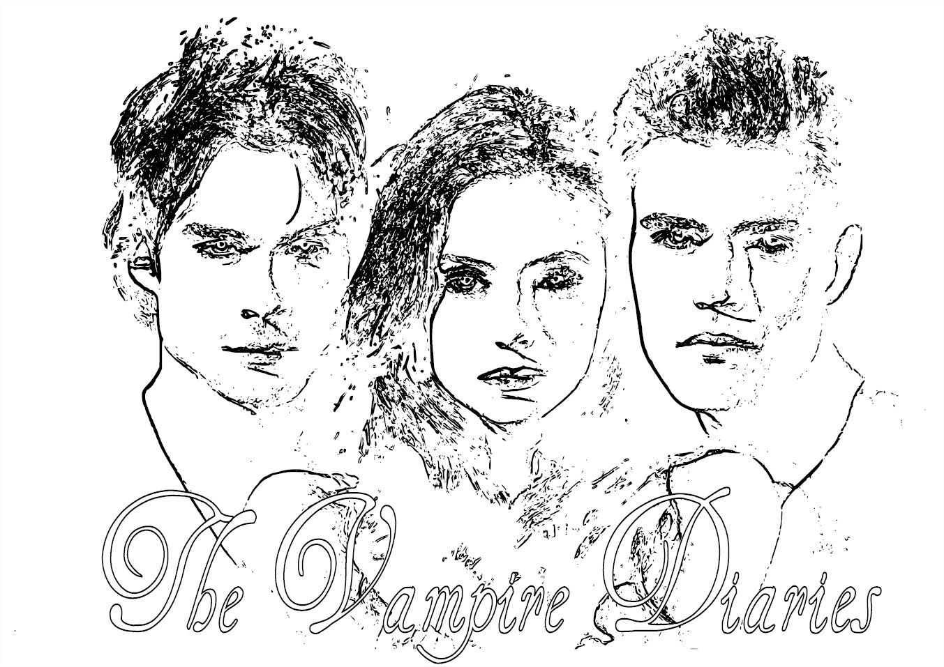 coloring sheet vampire diaries coloring pages vampire diaries coloring pages kyrsten vogts pinterest diaries sheet coloring coloring vampire pages
