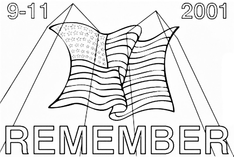 coloring sheets 911 we remember 9 11 01 coloring page free printable 911 sheets coloring