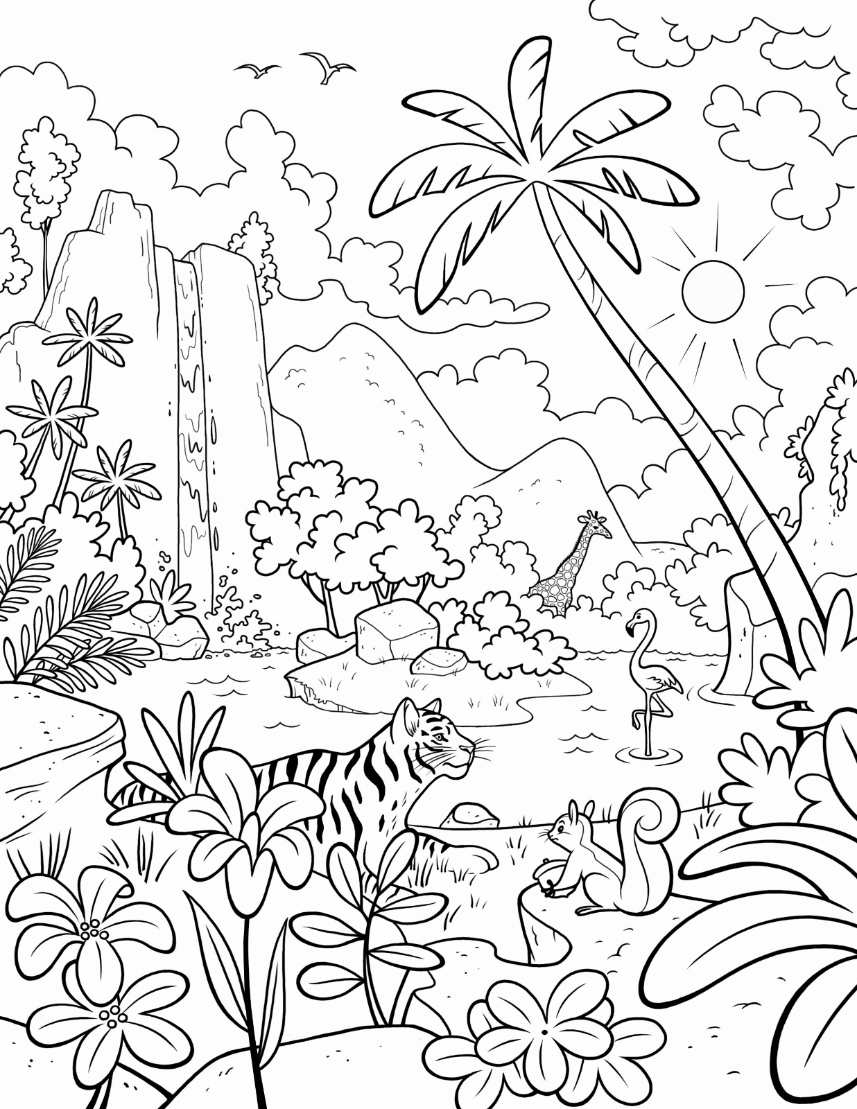 coloring sheets jungle jungle coloring pages best coloring pages for kids sheets jungle coloring