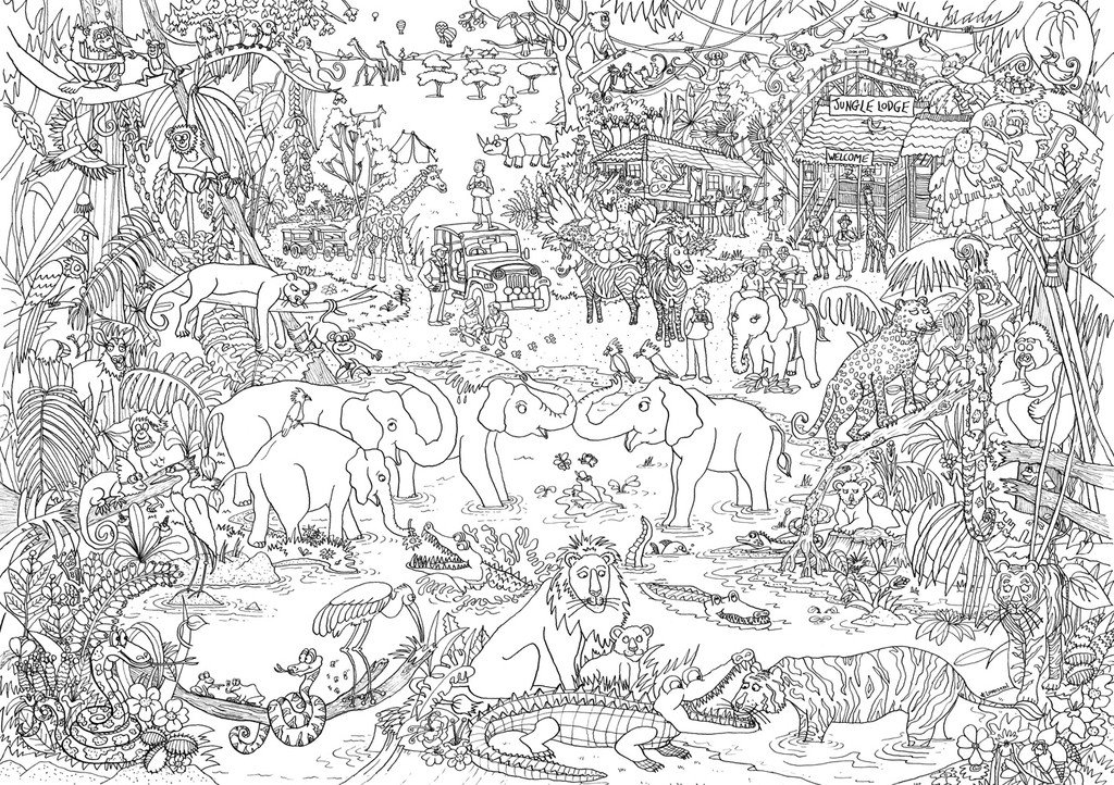 coloring sheets jungle the jungle book coloring pages for kids printable free sheets coloring jungle