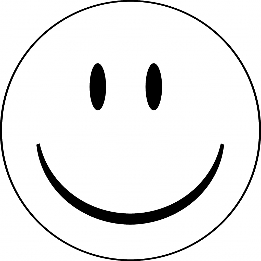 coloring smiley face happy face coloring clipart best smiley coloring face