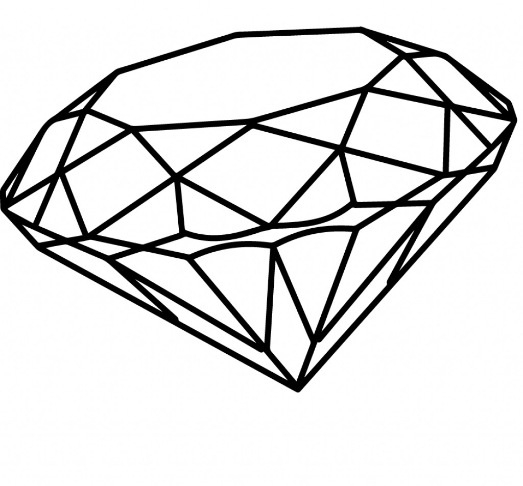coloring with diamonds diamond coloring page at getdrawings free download coloring diamonds with
