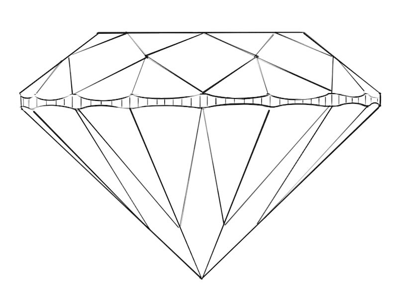 coloring with diamonds diamond coloring page coloringpagezcom coloring diamonds with