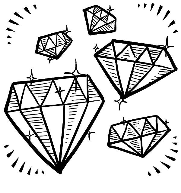 coloring with diamonds diamond coloring pages books 100 free and printable coloring with diamonds
