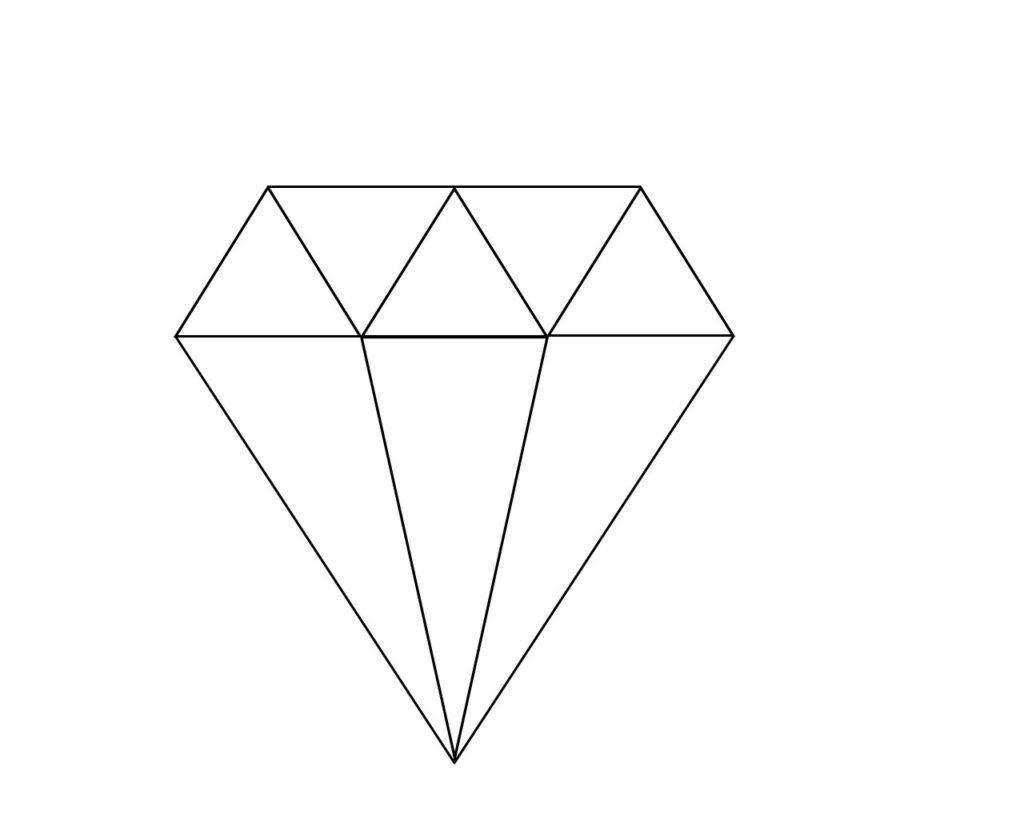 coloring with diamonds diamond coloring pages with coloring diamonds