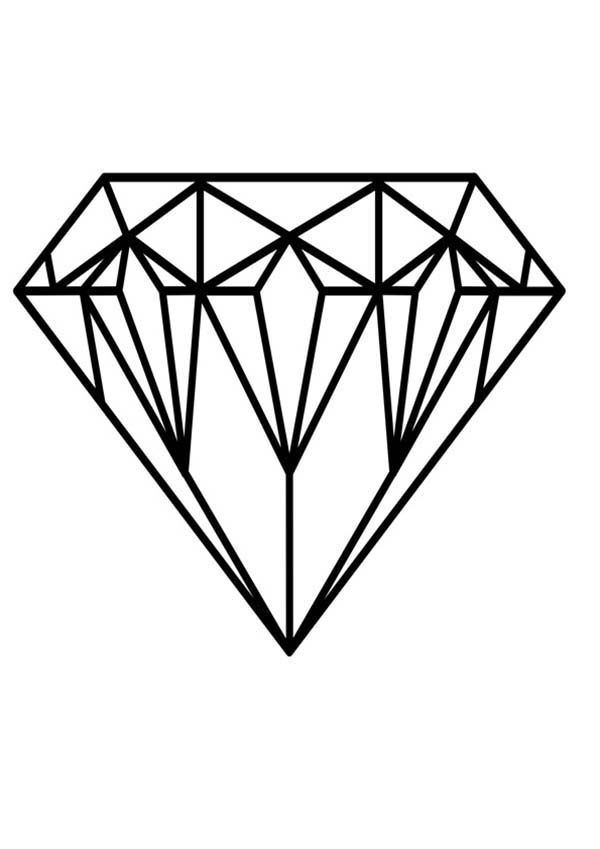 coloring with diamonds diamond drawing easy free download on clipartmag with diamonds coloring