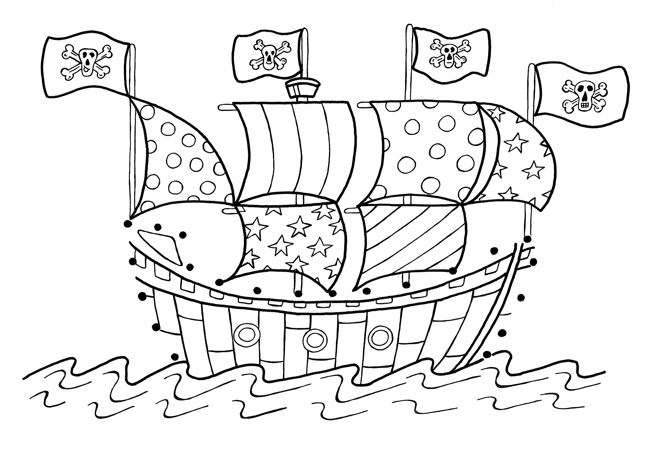 colour in pirate ship free printable pirate coloring pages for kids colour ship pirate in