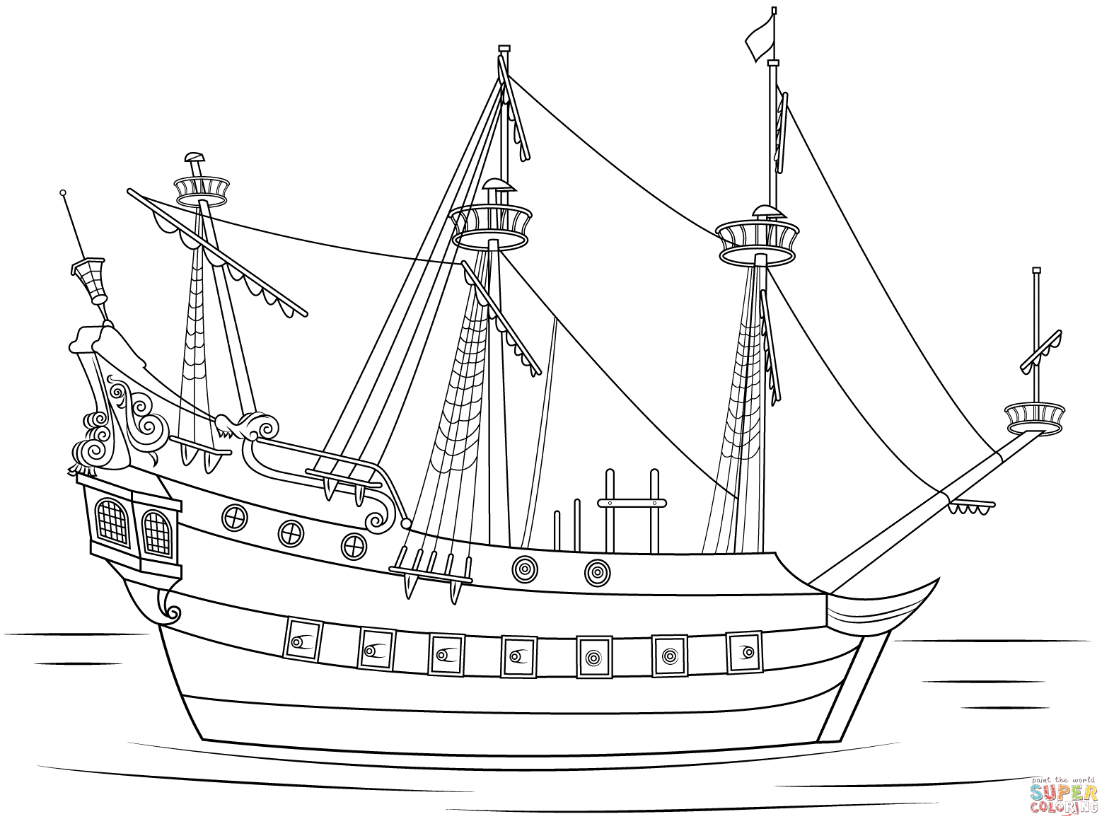 colour in pirate ship pirate coloring pages colour ship in pirate