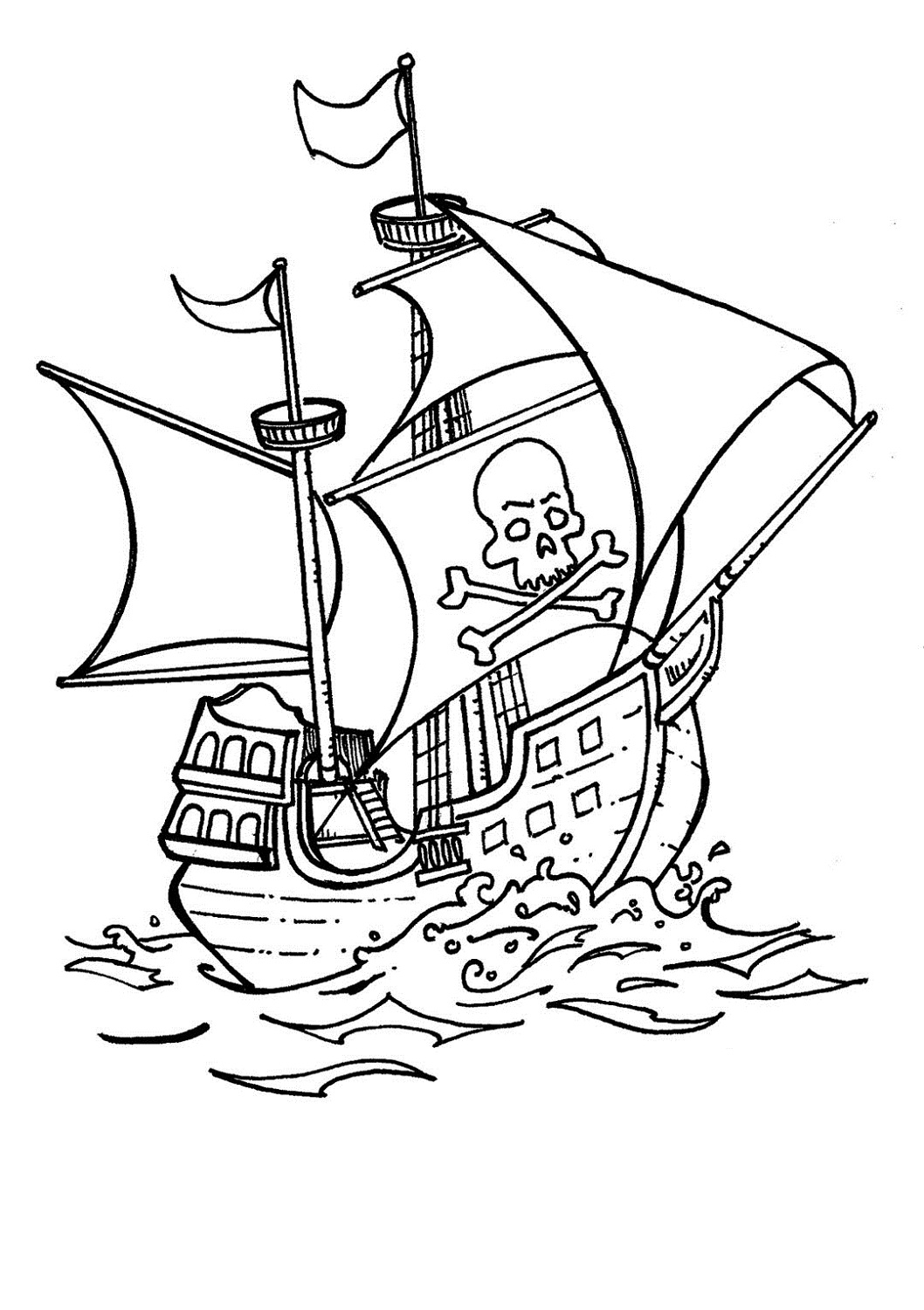 colour in pirate ship pirate ship pictures for kids activity shelter colour ship pirate in