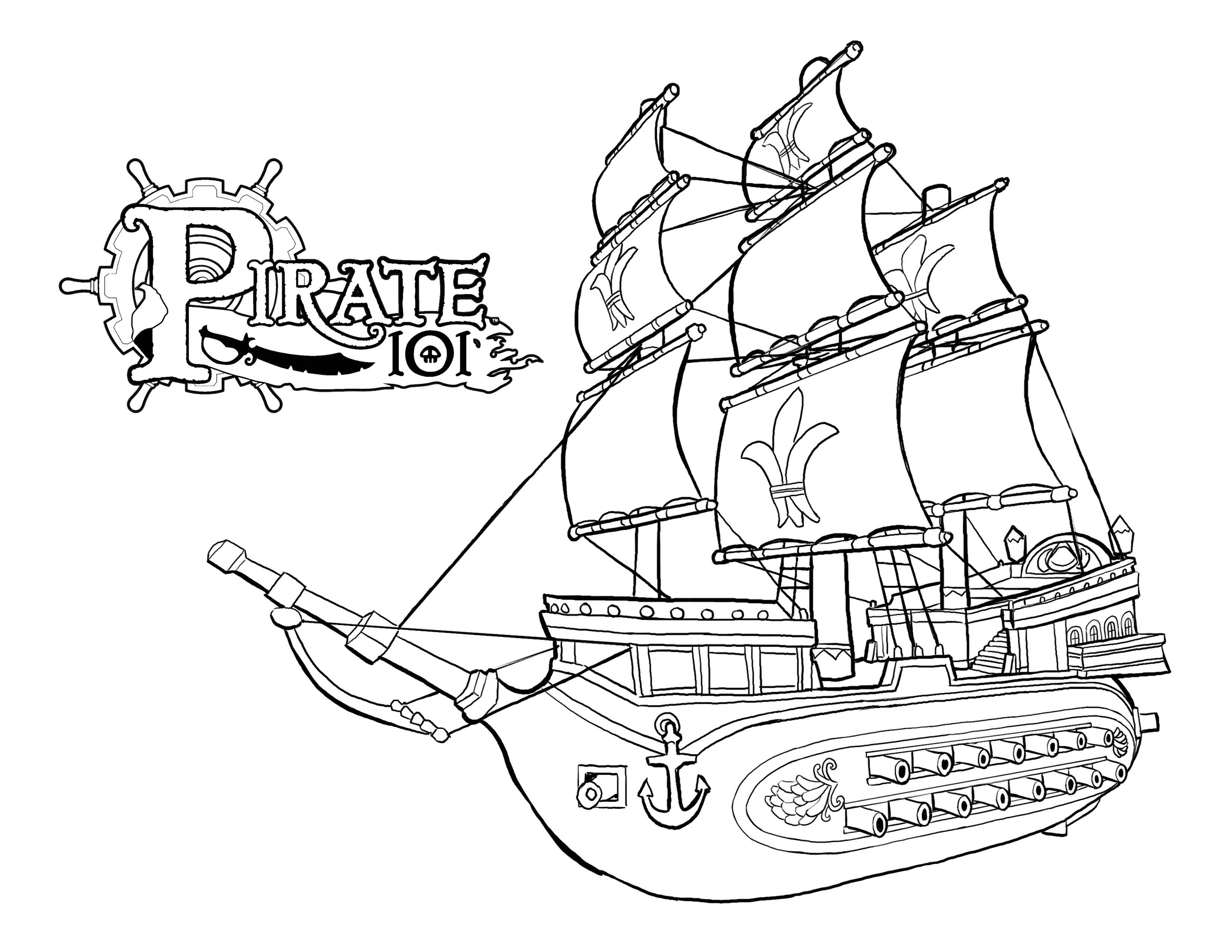 colour in pirate ship pirates ship drawing at getdrawings free download ship colour pirate in