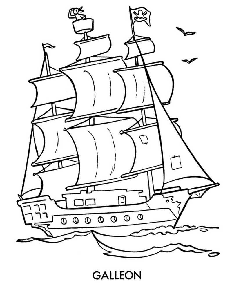 colour in pirate ship printable boat coloring pages free coloring sheets colour in pirate ship