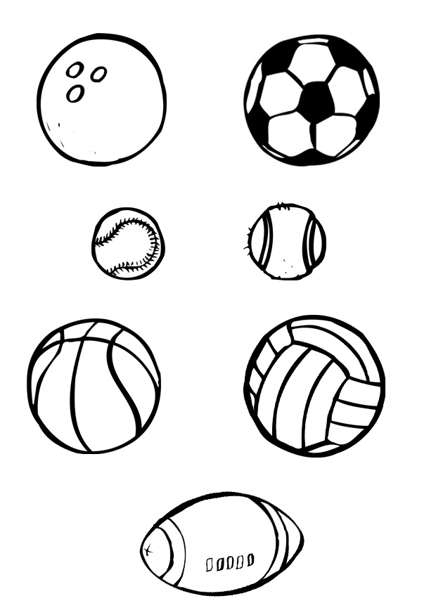 colouring pages of ball free printable sports balls coloring pages pages of colouring ball