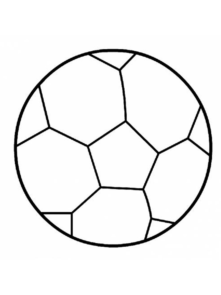colouring pages of ball soccer ball coloring page at getcoloringscom free colouring ball of pages