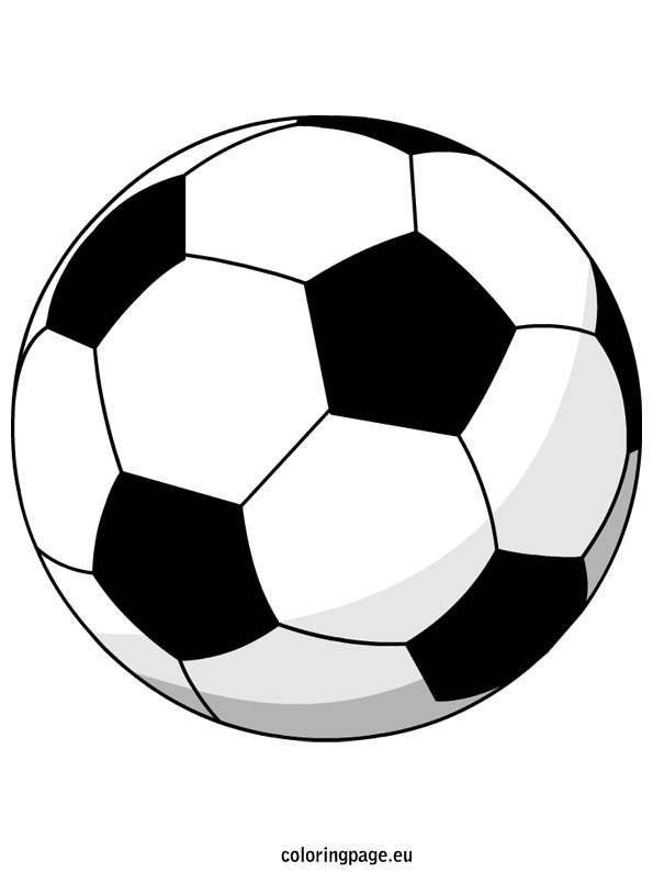 colouring pages of ball soccer ball coloring page woo jr kids activities ball of colouring pages