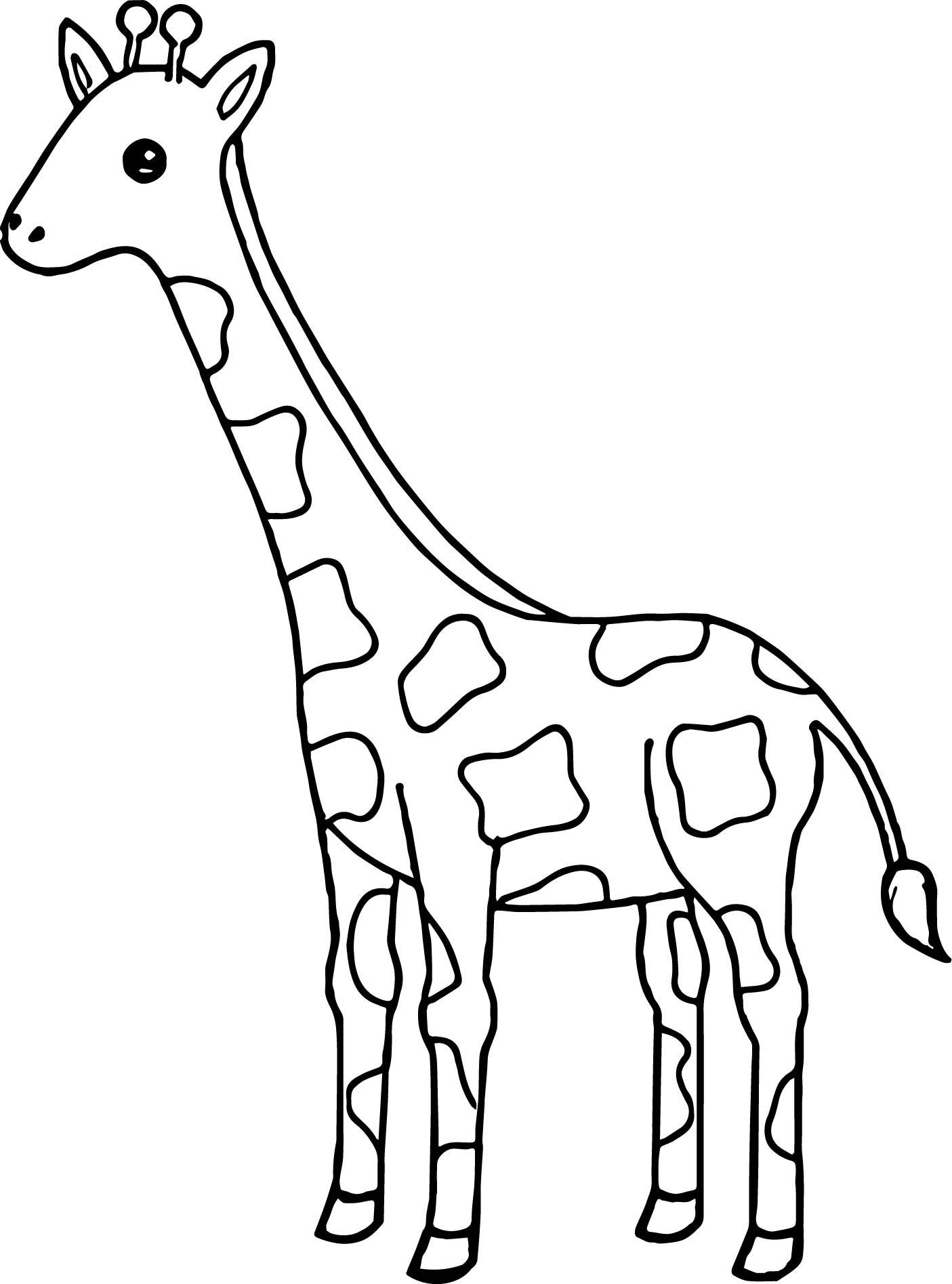 colouring pages of giraffe print download giraffe coloring pages for kids to have fun giraffe pages colouring of