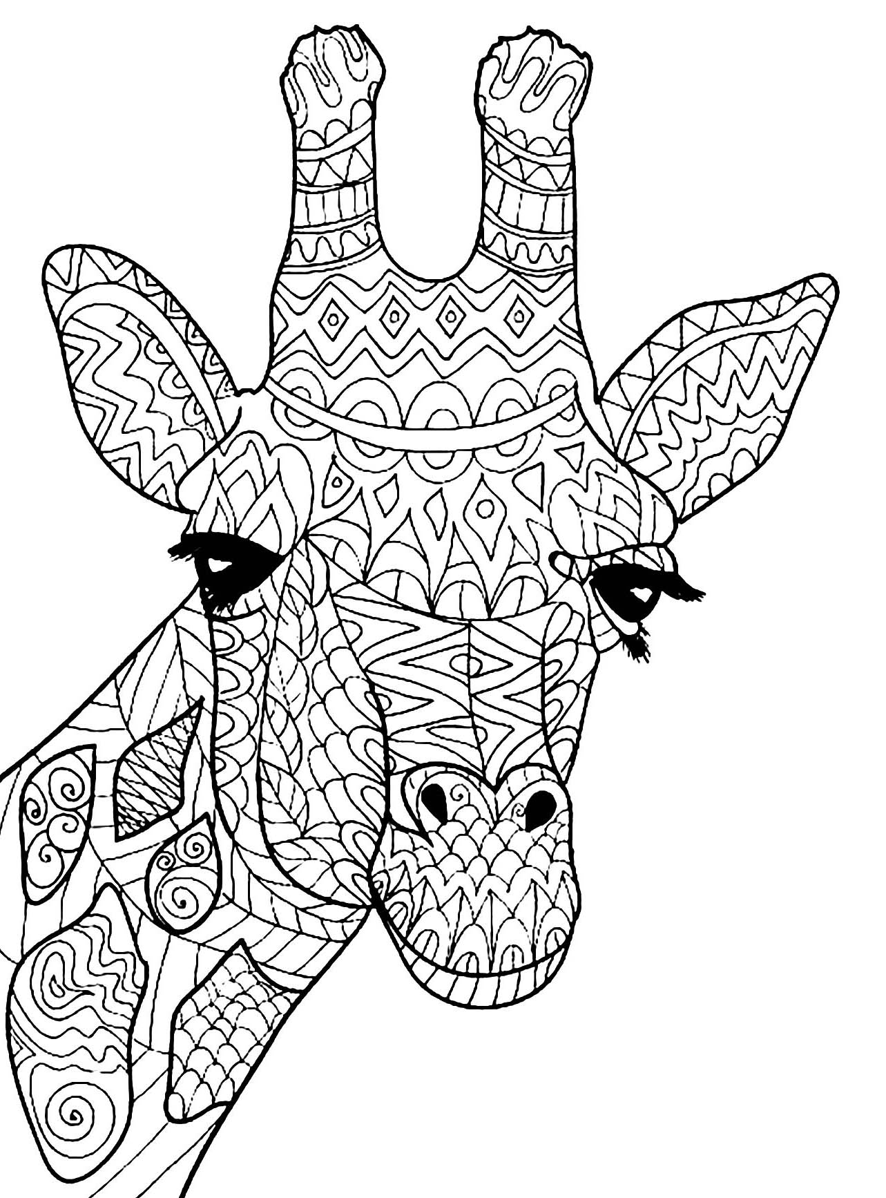 colouring pages of giraffe print download giraffe coloring pages for kids to have fun giraffe pages colouring of 1 1