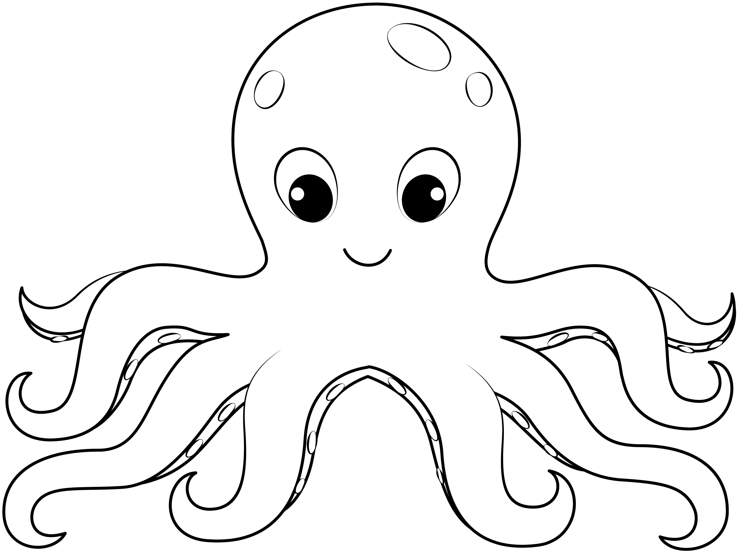 colouring picture of octopus free printable octopus coloring pages for kids octopus colouring of picture 1 1