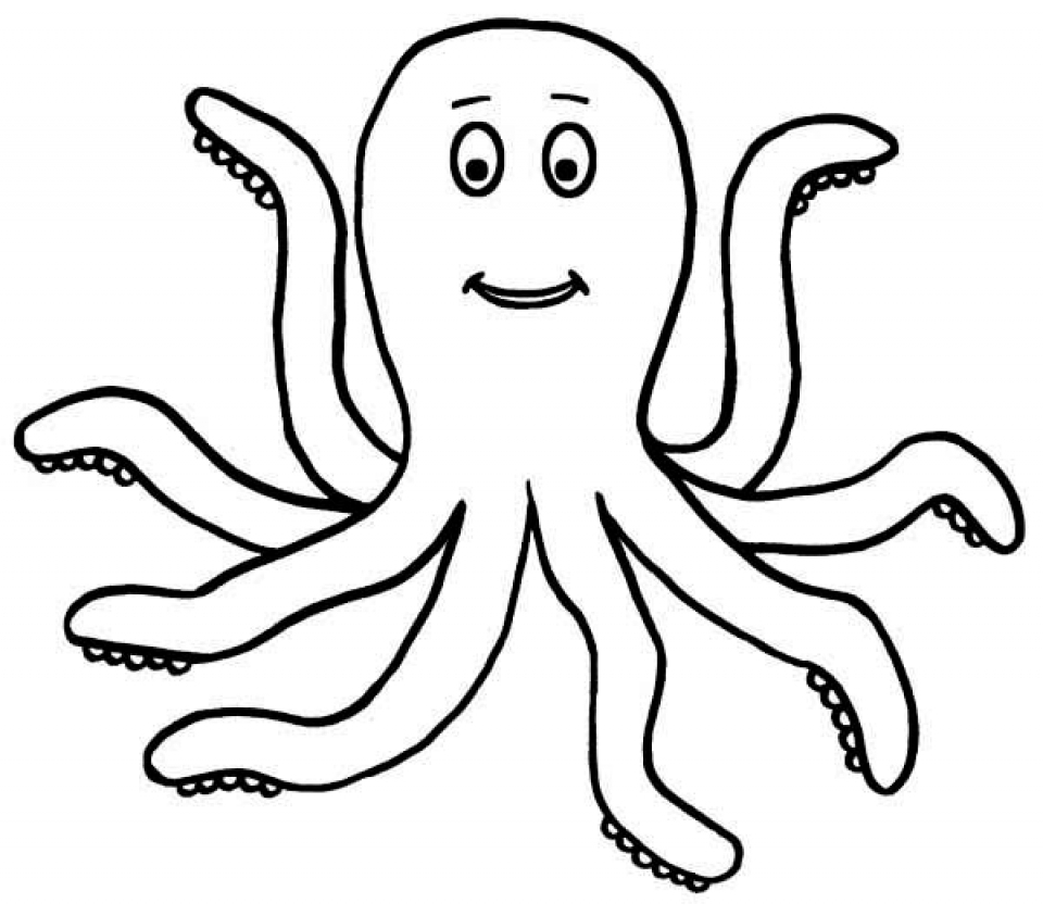 colouring picture of octopus free printable octopus coloring pages for kids of picture colouring octopus