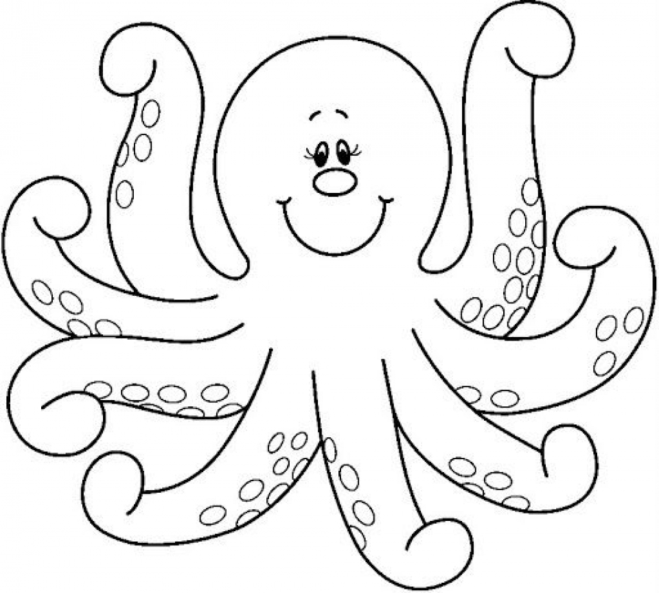 colouring picture of octopus pin on art ideas colouring octopus picture of