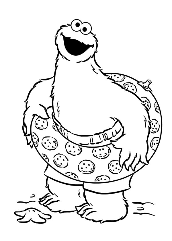 cookie monster coloring pages printable free cookie monster at the beach coloring pages coloring sky free monster coloring printable pages cookie