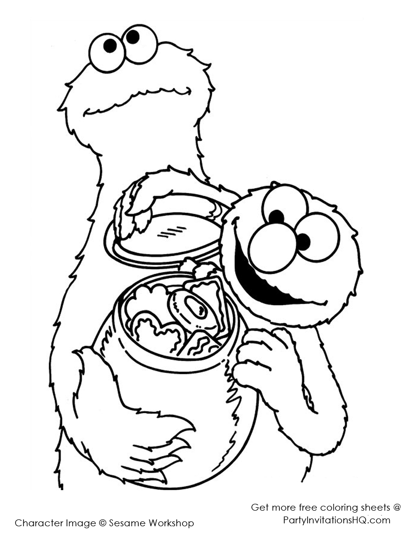 cookie monster coloring pages printable free cookie monster coloring pages to download and print for free coloring pages printable cookie monster free