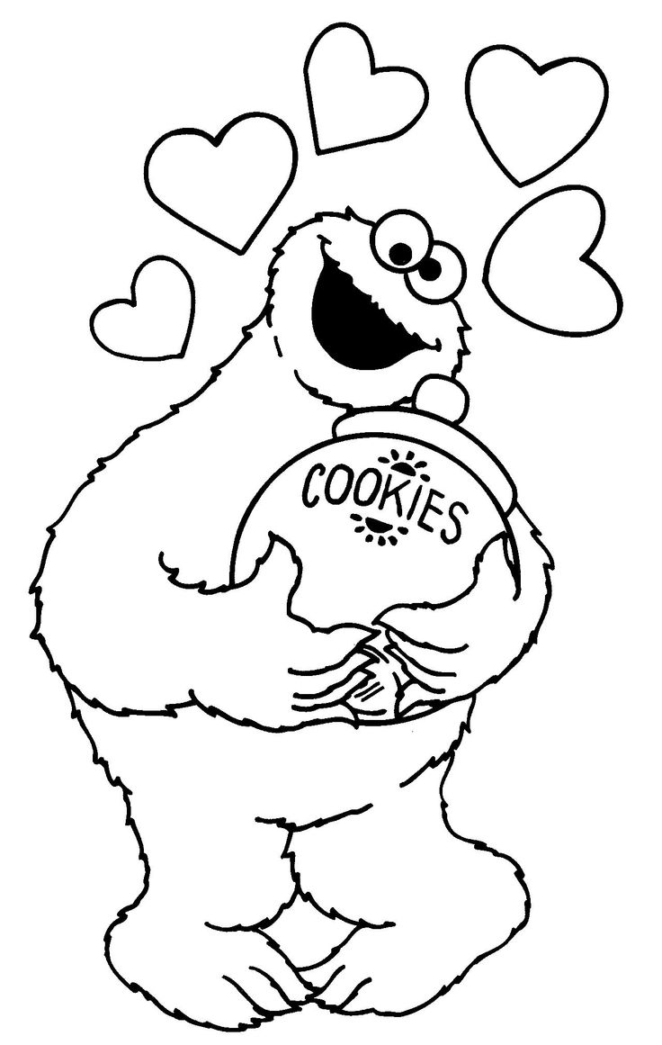 cookie monster coloring pages printable free cookie monster coloring pages to download and print for free cookie free printable coloring pages monster