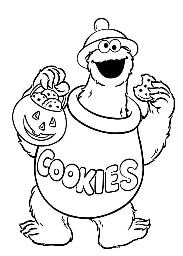cookie monster coloring pages printable free halloween cookie monster coloring pages halloween cookie coloring printable free monster cookie pages