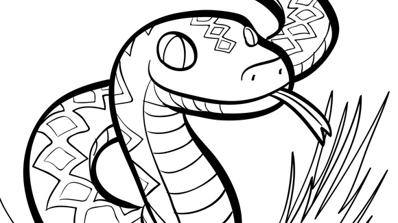 corn snake coloring page download eastern brown snake coloring for free coloring snake corn page