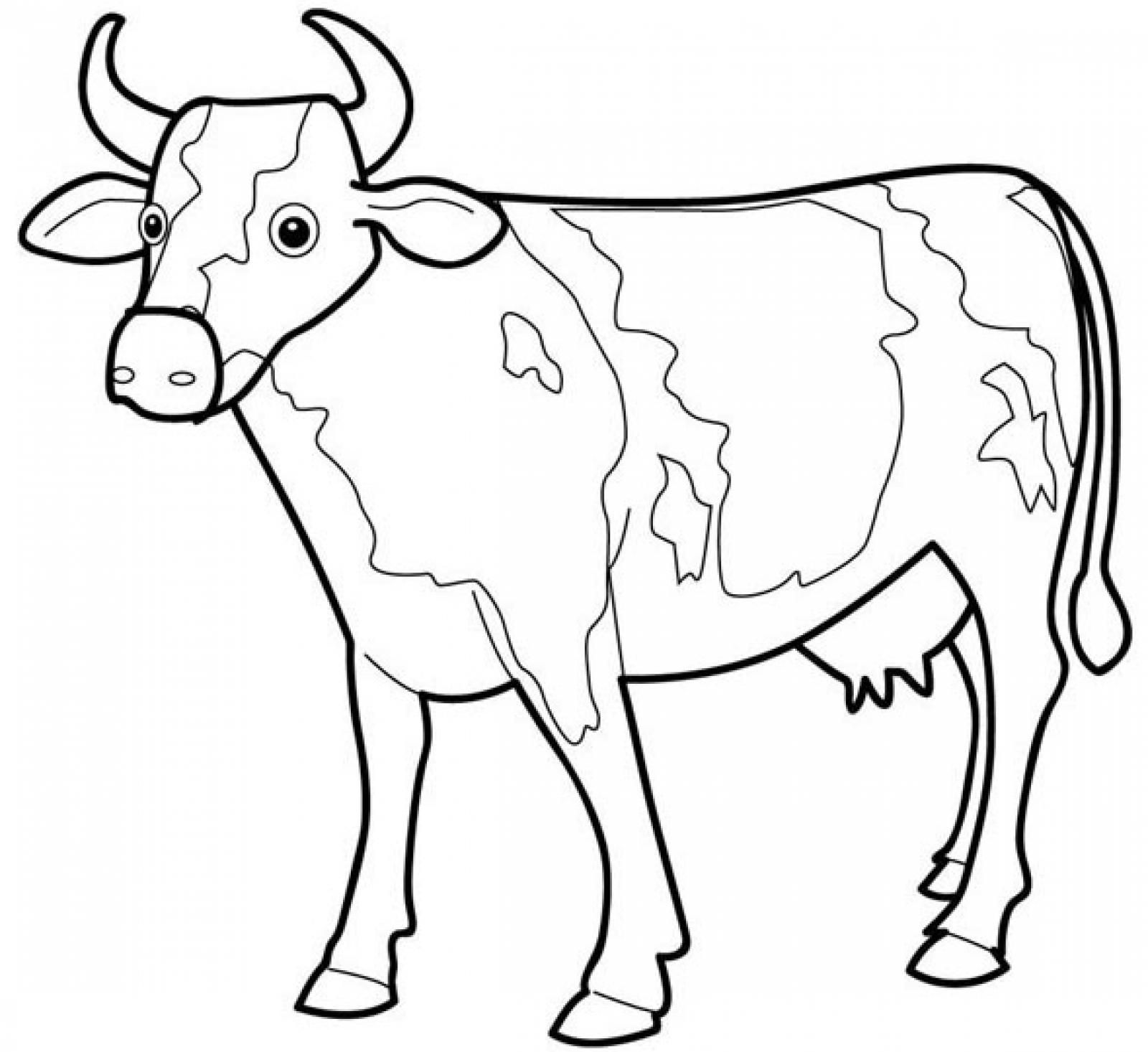 cow coloring pics cow coloring page super simple coloring pics cow