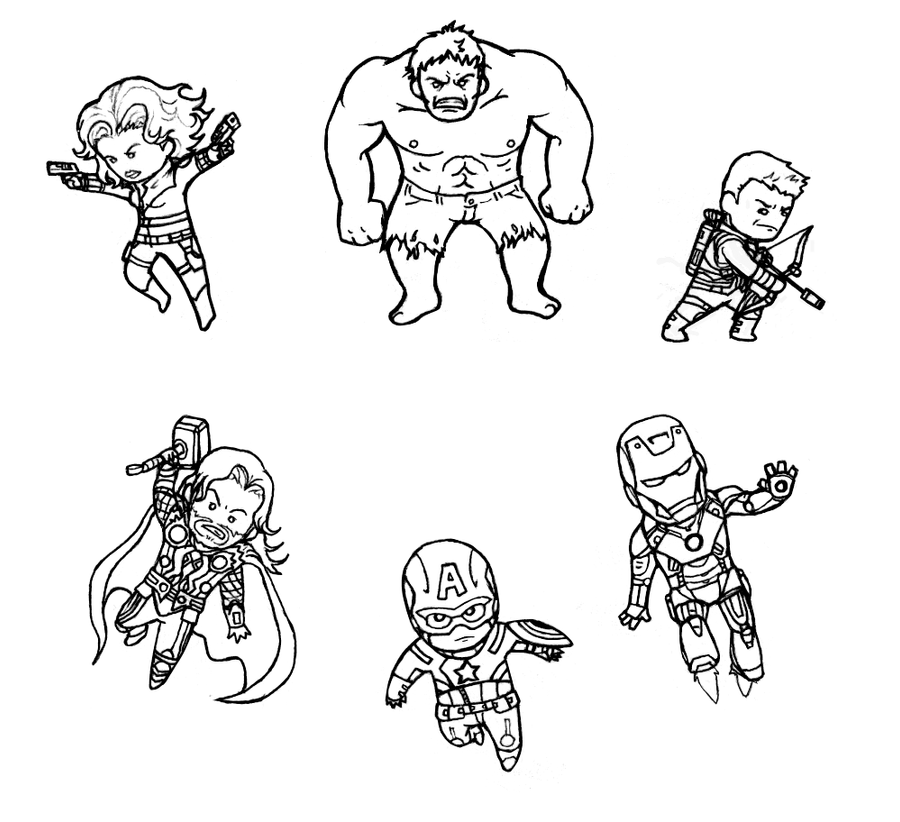 cute avengers coloring pages avengers funko pop coloring pages coloring easy pages avengers coloring cute