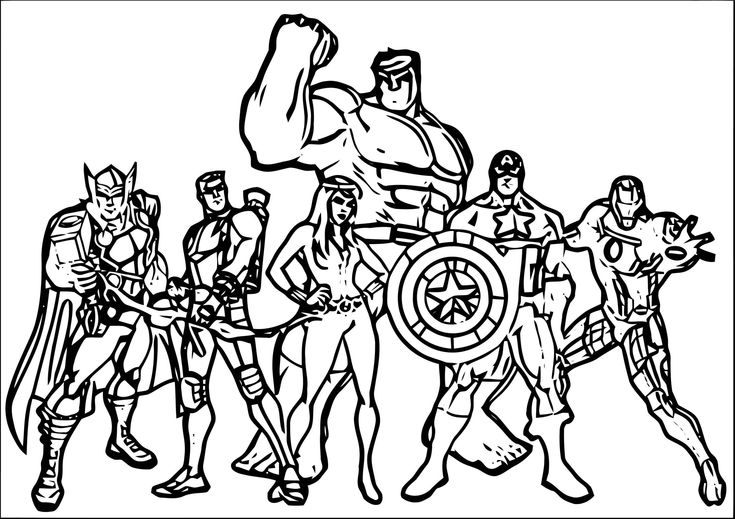 cute avengers coloring pages printable avengers coloring pages kids adults pdf coloring pages cute avengers