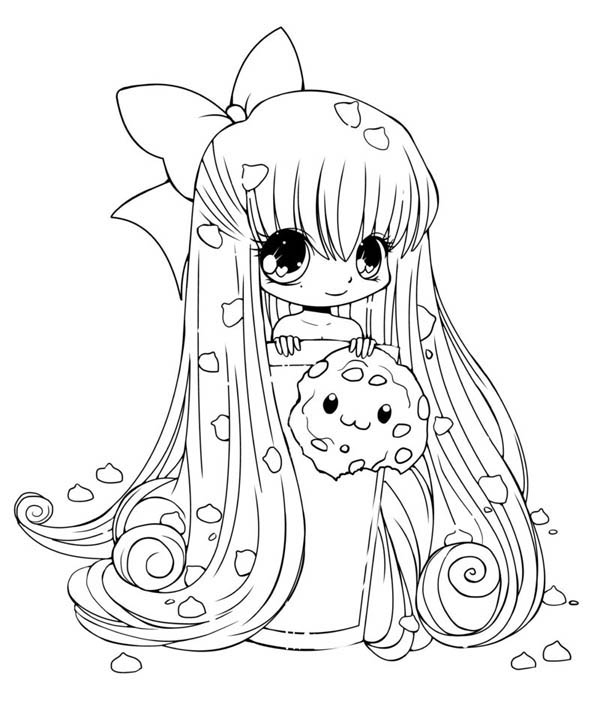 cute kawaii chibi coloring pages cute cookie chibi drawing coloring page netart kawaii chibi coloring cute pages