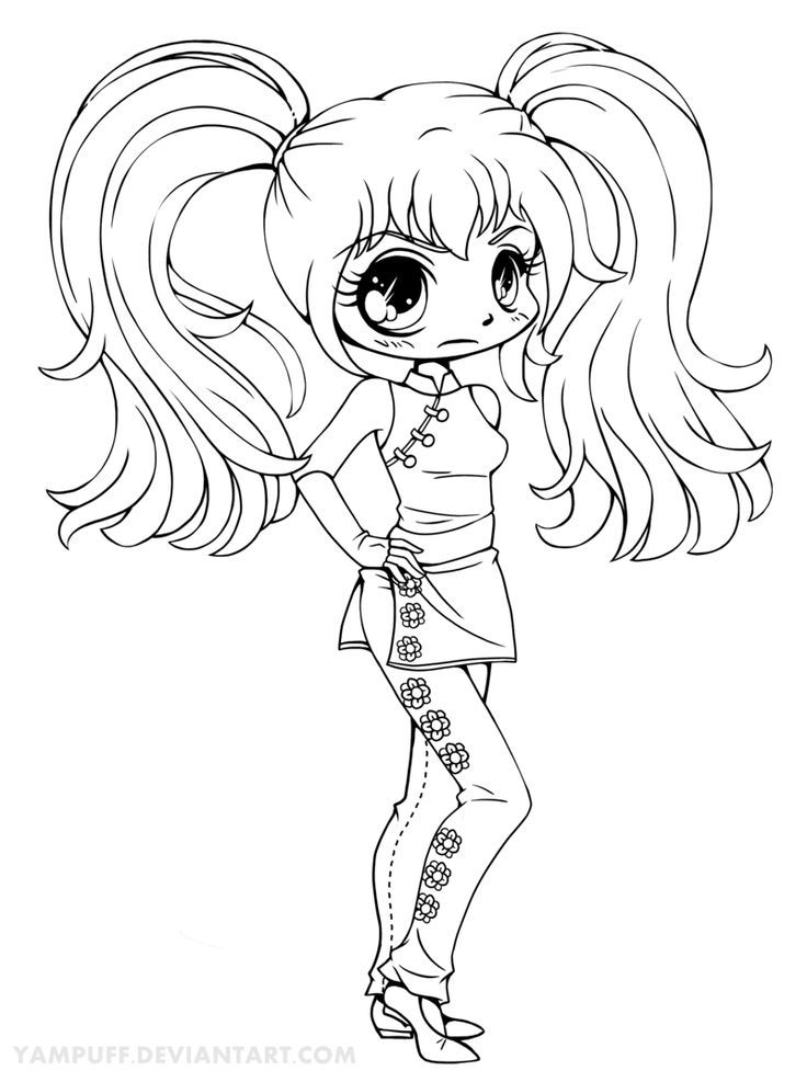 cute kawaii chibi coloring pages free printable chibi coloring pages for kids chibi cute pages coloring kawaii