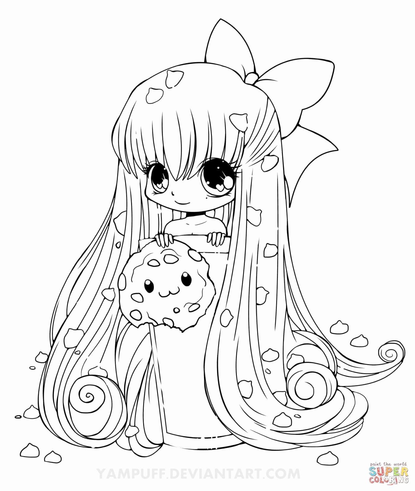 cute kawaii chibi coloring pages free printable chibi coloring pages for kids pages kawaii chibi coloring cute